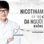 Nicotinamidase có trên da người hay không?